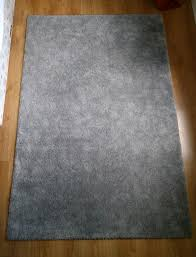 ikea rug light grey