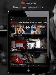 pocket wod 1 crossfit enthusiasts fitness exercise wod app screenshot
