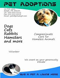 how to make lost dog flyers lost dog flyers template easy template example