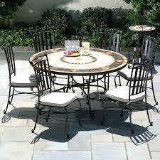 wrought iron patio table and chairs wrought iron patio dining table iron outdoor dining patio round