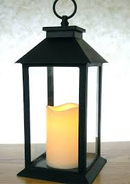 outdoor lanterns with timer candles candle cinnamon