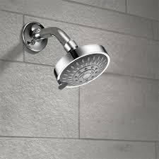 Fixed Shower Head <b>High Pressure</b> 4 Inch 5-setting <b>Adjustable</b> Top ...