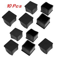 chair leg caps. amazon.com: sodial(r) 10 pcs black rubber square 38mm x table chair leg protective foot cap: kitchen \u0026 dining caps a