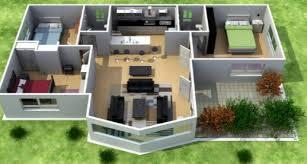 1 Dormitorio  Planos De Casas ModernasDiseo De Casas Pequeas