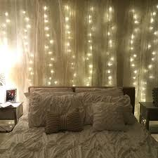 Diy Curtains With Lights Diy Curtain Lights Lights Are From Amazon And Curtains Are