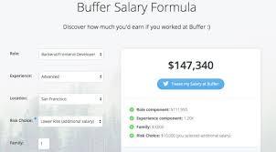 Salary Calculator Have Fun with Buffer's Salary Calculator Granted Blog 56