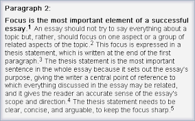 Does An Essay Have Paragraphs Step 5 Write The Middle Paragraphs The Learning Centre
