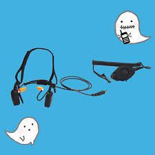 motorola 4000 radio. tactical bone conduction radio headset for motorola mototrbo apx4000 apx6000 4000