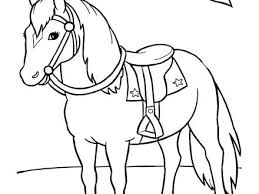 Cartoon Horse Coloring Pages Horse Coloring Pages Printable Horse