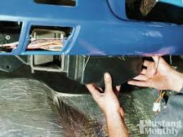how to install an aftermarket hvac in a vintage mustang classic auto air in dash air conditioning installation project reclaim mustang monthly magazine