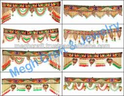 Small Picture Indian Home Decorative Toran Wholesale Crystal Beaded Door