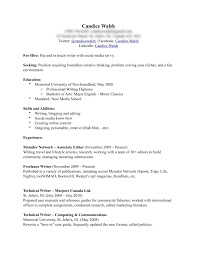 Sample Resume Header resume header examples page cover letter ...