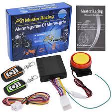<b>12V</b> Motorcycle <b>Anti</b>-<b>theft</b> Security <b>Alarm System</b> Remote Control for ...
