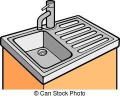 kitchen sink clipart black and white. kitchen sink clipart black and white collection e