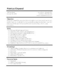Resume Example Work Experience | Nfcnbarroom.com