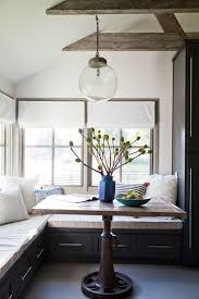 lighting small space. Small Space Dining Table Build In Seating Pendant Lighting