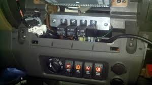 wired my fuse box and some hid lighting!! second generation fuse block with relay at Fuse Box Mounts