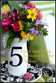 Easy Things To Make 5 Fun And Easy Things To Make For Your Outdoor Spaces Stonegable