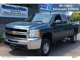 2008 Chevrolet Silverado 2500HD LT Extended Cab 4x4 in Blue ...
