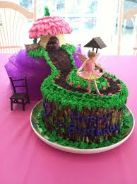 Small Picture 73 best Fairies Pixies and Fairy Garden Cake Inspiration images