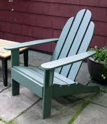 Stackable Outdoor Chair Plans