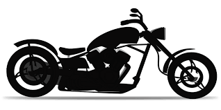 free vector graphic chopper motorbike motorcycle free image