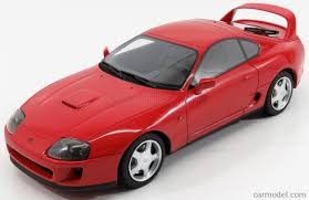 LS-COLLECTIBLES LS015A Scale 1/18 | TOYOTA SUPRA 1994 RED