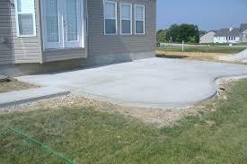 brilliant patio cement cost miami vs pavers blocks calgary intended p cement patio designs t15