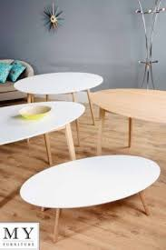 Tretton Retro Solid Oak Or Lacquered White Round Oval Dining