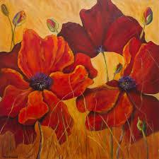 poppy flower painting new red poppies poppy flowers poppies painting poppy wall art on