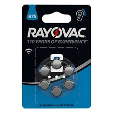 Элемент питания <b>Rayovac Acoustic</b> Type 675 бл 8 — купить в ...
