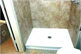 cost to install shower pan replacing fiberglass shower shower pan replacement replace shower pan without removing cost to install shower