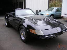 And beneath the exotic looks is a c3 corvette. Ferrari Daytona Spider Replica No Reserve