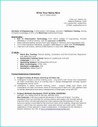 Resume Title For Fresher Software Engineer Professional User