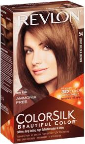 Revlon 54 Light Golden Brown Revlon Light Golden Brown No 54 Hair Color Price In India
