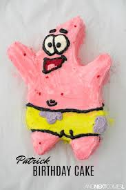 Patrick From Spongebob Birthday Cake And Next Comes L