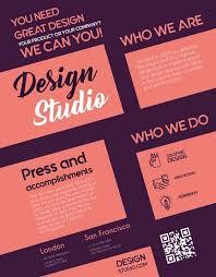 Free Design Studio Flyer Template Download Free Psd Flyer