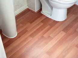Elegant Laminate Floor In Bathroom ... Photo