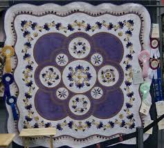 Punch with Judy's Blog: BEST OF SHOW - Victorian Quilters Inc ... & Pam called her quilt