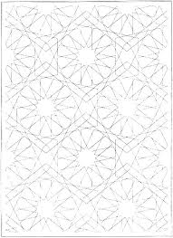 Geometric Color Pages Printable Geometric Coloring Pages Free