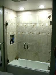 decoration glass tub enclosures medium size of bathtub bathroom style on shower custom