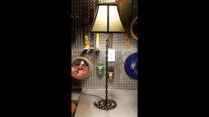 diy table lamp chain link