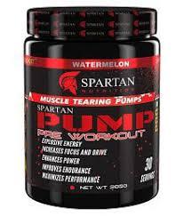 quick view spartan pump pre workout