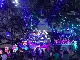 Austin Christmas Light Festival Mozarts Annual Holiday Light Show Brings The Joy Of Light