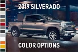 What Colors Does The 2019 Chevy Silverado Come In Muzi