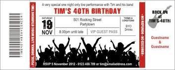 Concert Invite Template Concert Invitation Template Major Magdalene Project Org
