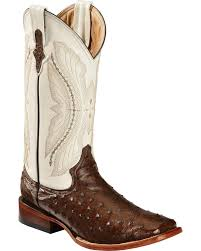 ferrini ferrini men s full quill ostrich cowboy boot wide square toe 1019307 com