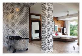 custom made walk in bath and bathtub using traditional indian architectural techniques designed by chanda chaudhary a luxury interior stylist and author