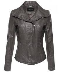 women s bike rider moto leather jacket