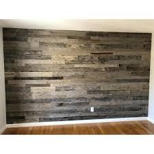 5 in grey reclaimed planks decorative